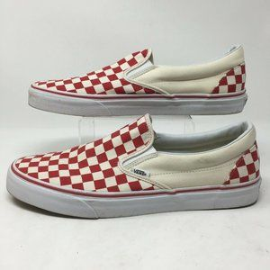 Vans Off The Wall Mens Skate Shoes Slip On Checker